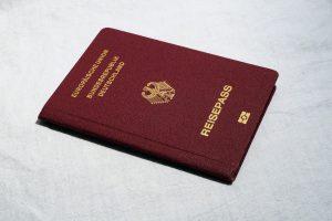 Mein Visum immer bei mir